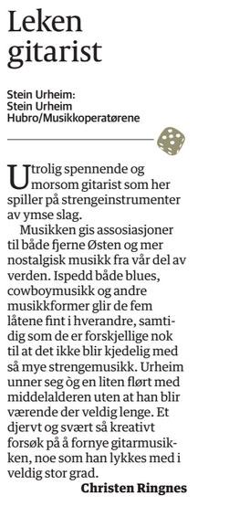 Review: Østlendingen